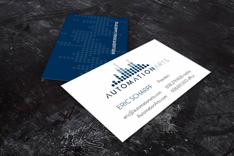 Automation Arts Business Cards