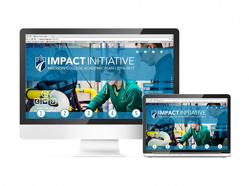 Madison College Impact Initiative Website