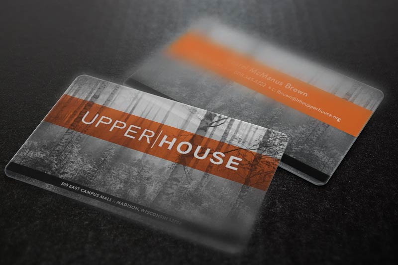 Upper|House Business Card