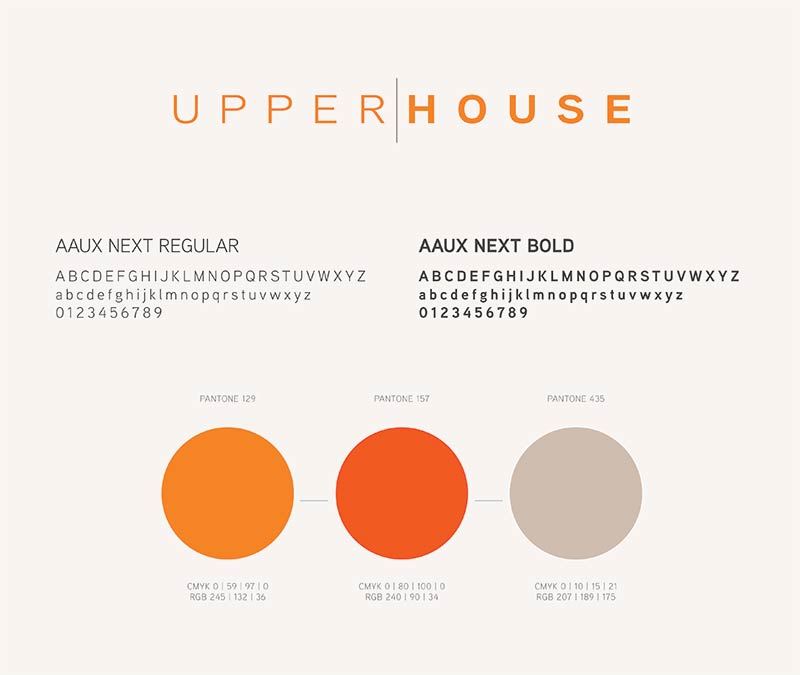 Upper|House color scheme