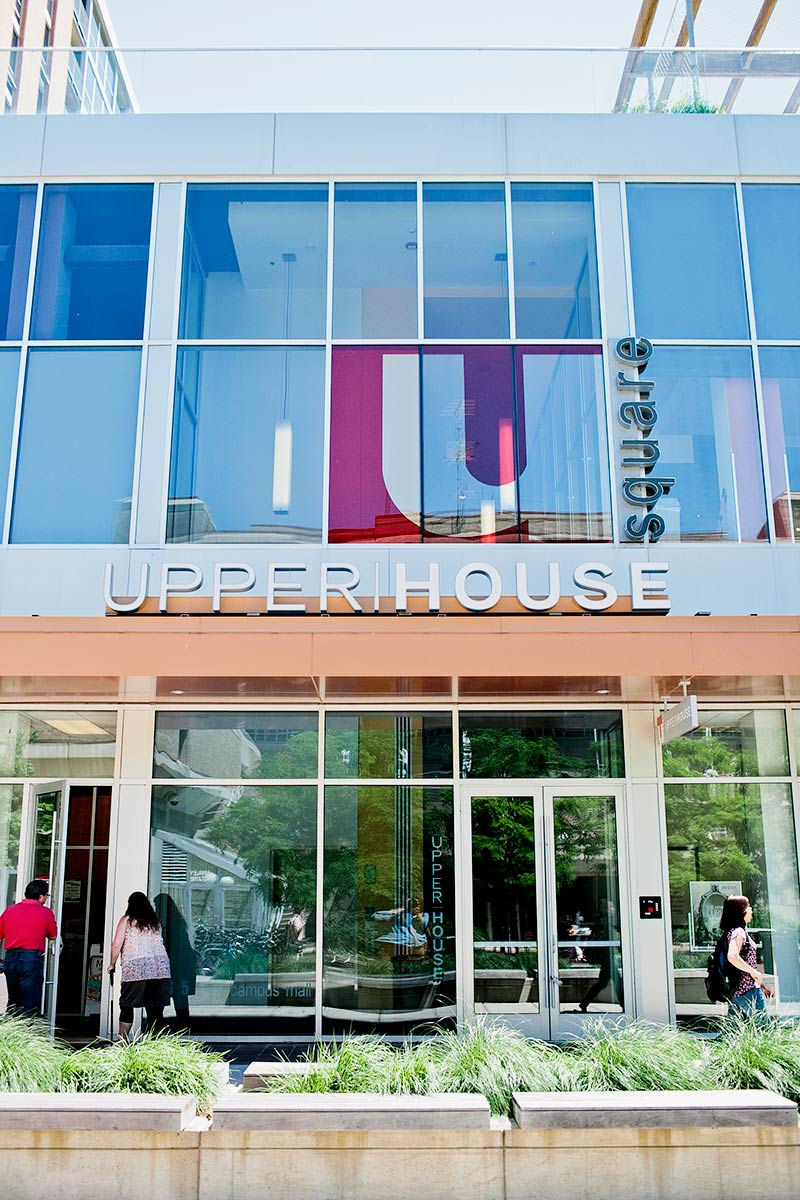 Upper|House Outside Sign
