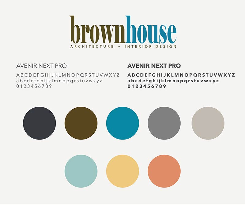 Brownhouse Typography and Colors